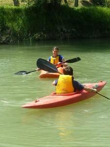 Corso kayak fiume Imola