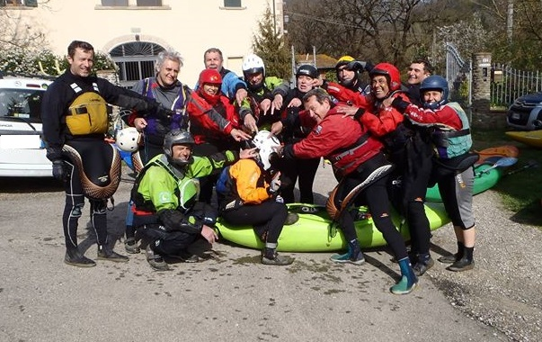 Kayak Party fiume Arno - Canoa Club Imola