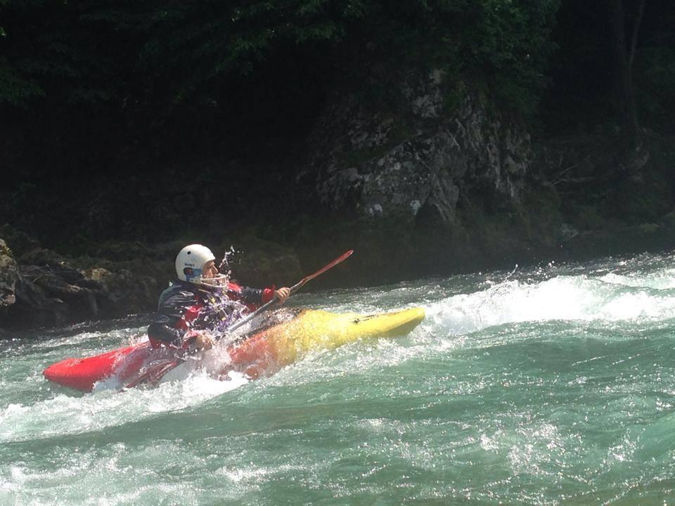 Discesa in Kayak Brembo e Oglio Canoa Club Imola