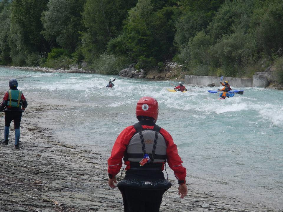 Discesa in kayak Caorame e Cordevole Canoa Club Imola